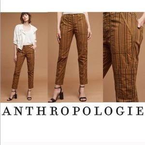 Anthro Hei Hei The Wanderer Brown Cargo Pants